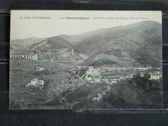 Z18 - 30 - Chamborigaud - Le Viaduc, Chateau De Tagnac, Pont Et Filatures - Non Voyagée - Other Municipalities