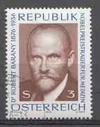 Autriche 1976  Mi.Nr: 1509 Geburtstag Von Robert Bárány  Oblitèré / Used / Gebruikt - 1945-.... 2ème République