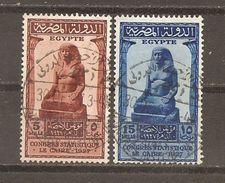 Egipto - Egypt. Nº Yvert  131, 133 (usado) (o) - Usados