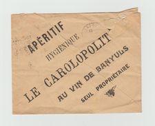 LSC 1921 - Entête Vins & Spiritueux En Gros - HENSGEN JONVAL - CHARLEVILLE (Ardennes) + Dos Illustré - 1921-1960: Periodo Moderno