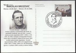 Croatia Zagreb 2017 / Olympic Games London 1948 / Miroslav Brozovic / Cro Football Legend / Silver Medal - Verano 1948: Londres