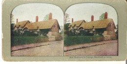 Stereoscope Card Ann Hathaway's Cottage, Stratforn On Avon. - Stereoscope Cards