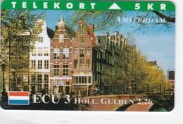 Denmark, TP 029B, ECU-Netherland, Amsterdam, Mint, Only 700 Issued, 2 Scans. - Denmark