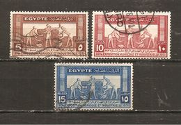 Egipto - Egypt. Nº Yvert  141-43 (usado) (o) - Gebruikt