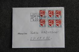 Lettre De DIJON Vers SP 69092 - 1921-1960: Période Moderne