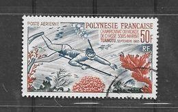 CD108 Polynésie Française PA N°14 Obl. - Luchtpost