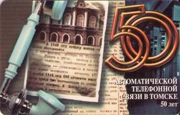 TARJETA TELEFONICA DE RUSIA (657). - Rusia