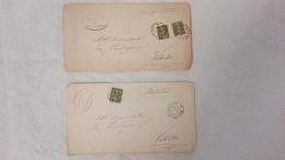 1894 - Lettere Dal Comune Di Montefiascone - Marcophilie