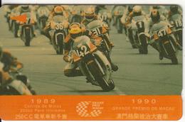 MACAU(GPT) - Grand Prix Macau 4, CN : 2MACD, Tirage 10000, Used - Macau