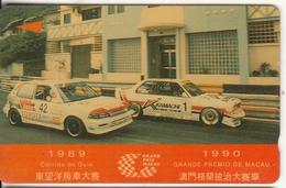 MACAU(GPT) - Grand Prix Macau 3, CN : 2MACC, Tirage 10000, Used - Macau