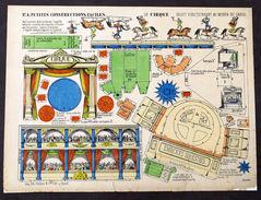 Gioco Costruzione - Petites Constructions N° 4 - Le Cirque - Epinal - 1900 Ca. - Giocattoli Antichi