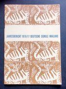 Storia Locale - Scuola Germanica Milano - Annuario Deutsche Schule 1976/77 - Libri, Riviste, Fumetti