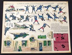 Gioco Costruzione - Imagerie D'Epinal - Serie De Guerre N° 28 - 1900 Ca. - Giocattoli Antichi