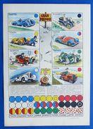 Gioco Vintage Gran Premio - L'illustrazione Italiana - Anni '30 Ca. - Giocattoli Antichi