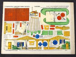 Gioco Costruzione - Petites Constructions N° 10 - Scierie - Epinal - 1900 Ca. - Giocattoli Antichi