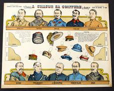Gioco Costruzione - Imagerie D'Epinal - Serie De Guerre N° 26 - 1900 Ca. - Giocattoli Antichi