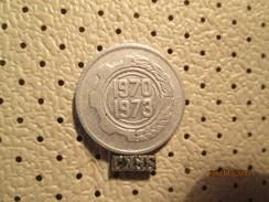 ALGERIA 5 Centimes 1970 1973 # 4 - Algeria