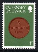 GUERNSEY 1979 Definitive/Coins 1p: Single Stamp UM/MNH - Guernsey