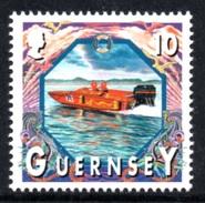 GUERNSEY 1999 Definitive/Maritime Heritage 10p: Single Stamp UM/MNH - Guernsey