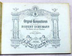 Musica Spartiti - R. Schumann - Original Kompositionen - Ed. Peters - 1925 Ca. - Non Classés