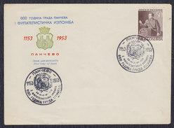 Yugoslavia 1953 Marshal Tito - 800th Anniversary Of Pancevo, Cover - Covers & Documents