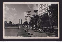 RECIFE Postcard Year 1960 Postmark AEROPORTO - BRAZIL BRASIL BRÉSIL BRESIL Building Bâtiments Skyscrapers Skyscraper - Recife