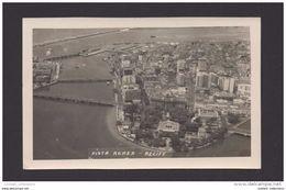 OLD REAL PHOTO 1950s RECIFE BRAZIL BRASIL AERIAL VIEW Building Bâtiments Skyscrapers Skyscraper - Recife