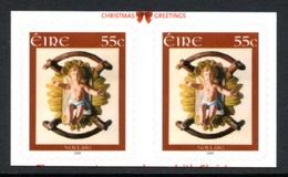 IRELAND 2008 Christmas/Infant Jesus In Manger: Horizontal Pair Of Stamps UM/MNH - Ungebraucht