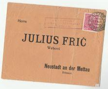 1915 Laibach AUSTRIA COVER CENSOR To Bohemia Censored Ljubljana Slovenia Stamps - 1850-1918 Empire