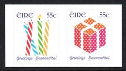IRELAND 2012 Greetings: Horizontal Pair Of Stamps UM/MNH - Nuovi