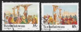 Bophuthatswana Scott # 299,301 Used Easter, 1994 - Bophuthatswana