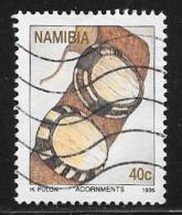 Namibia, Scott # 787 Used Ivory Buttons, 1995 - Namibia (1990- ...)
