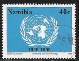 Namibia, Scott # 792 Used UN 5oth Anniv., 1995 - Namibia (1990- ...)