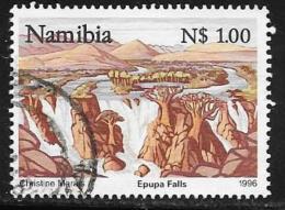 Namibia, Scott # 795 Used Tourism,, Falls, 1996 - Namibia (1990- ...)