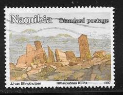 Namibia, Scott # 816 Used Ruins, 1997 - Namibia (1990- ...)