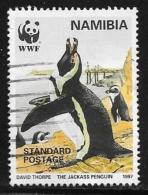 Namibia, Scott # 821 Used WWF, Penguins, 1997 - Namibia (1990- ...)