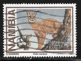 Namibia, Scott # 825 Used Wild Cat, 1997 - Namibia (1990- ...)