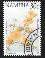 Namibia, Scott # 856 Used Flowers, 1997 - Namibia (1990- ...)