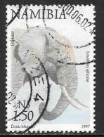 Namibia, Scott # 866 Used Elephant, 1997 - Namibia (1990- ...)