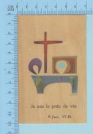 Religion - GBB Signé - Je Suis Le Pain De Vie - Image Pieuse Santini, Holy Card - Images Religieuses