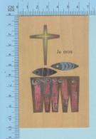 Religion - GBB Signé - Credo , Je Crois - Image Pieuse Santini, Holy Card - Images Religieuses