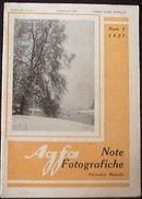 Fotografia Epoca Note Fotografiche Agfa 1927 N° 1 - Unclassified