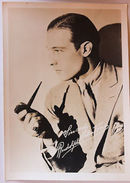 Fotografia D'epoca Cinema Attore Rudolph Valentino Anni '20 - Non Classés