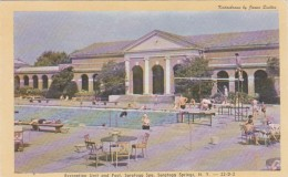 New York Saratoga Springs Recreation Unit And Pool Saratoga Spa Dexter Press - Saratoga Springs
