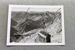 Foto Montagna Courmayeur 1950 - Funivia Monofune - Non Classificati