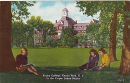 New York Finger Lakes Keuka Park Keuka College Curteich