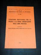 Militaria Pulizia Conservazione Armi Portatili : Fucile Browning M1918 - Documenti