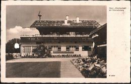 ! 1935 Ansichtskarte Obersalzberg Haus Wachenfeld - Berchtesgaden