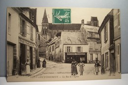 SAINT-LEU-D'ESSERENT   --- La Rue De L'Eglise - Frankreich