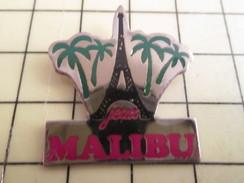 Sp15 Pin's Pins / Rare , Belle Qualité  VILLES / PARIS TOUR EIFFEL JEUX MALIBU - Städte
